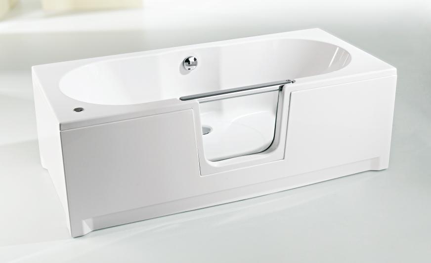 badewannen mit niedrigem einstieg badewannen mit. Black Bedroom Furniture Sets. Home Design Ideas